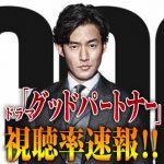 【速報】「グッドパートナー」最終回視聴率!